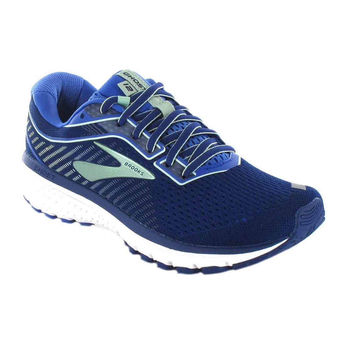 Zapatillas Running Hombre - Brooks Ghost 12 W Azul azul Zapatillas Running
