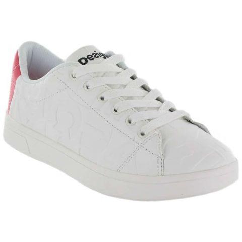 Desigual Baskets Desigual Chaussures de Femmes de mode de Vie Décontracté Tailles: 36, 37, 38, 39, 40, 41; Couleur: blanc