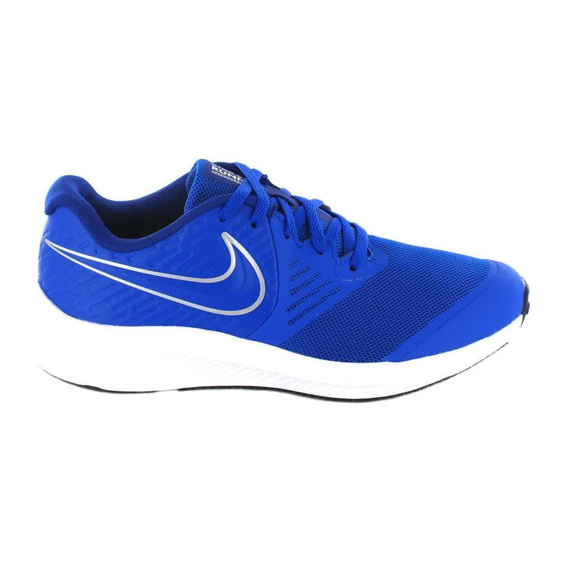 Nike Star Runner 2 GS 400 Nike Running Shoes Child running Shoes Running Sizes: 36, 37,5, 38, 39, 40; Color: blue