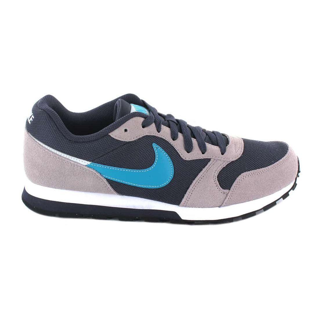 Nike MD Runner 2 002 Nike Chaussures Casual Mens mode de Vie des Tailles: 41, 42, 43, 44, 45; Couleur: gris