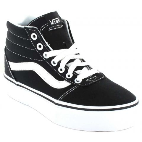 Vans Ward Hi Platform Vans Shoes Women's Casual Lifestyle Sizes: 35, 36, 37, 38, 39, 38,5, 40, 41; Color: black