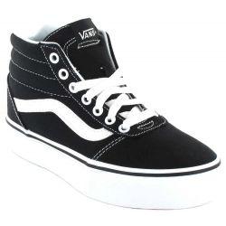 Vans Ward Hi Platform Vans Shoes Women's Casual Lifestyle Sizes: 35, 36, 37, 38, 39, 38,5, 40, 41; Color: black