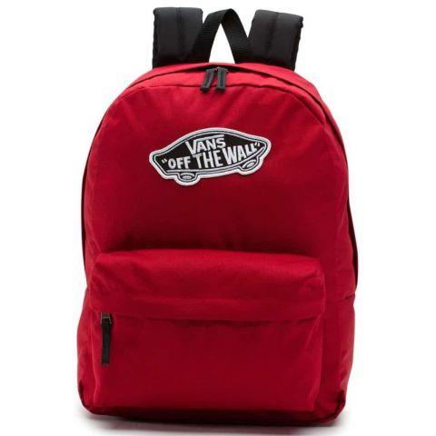 Vans Realm Biking Red Vans Mochilas - Bolsas Running Color: granate