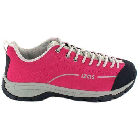 Izas Zorge Pink Izas Zapatillas Trekking Mujer Calzado Montaña Tallas: 37, 38, 39; Color: fucsia