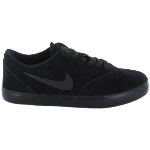 Nike SB Check Suede GS Nike Casual Footwear Lifestyle Junior Sizes: 36, 37,5, 38, 39, 40; Color: black