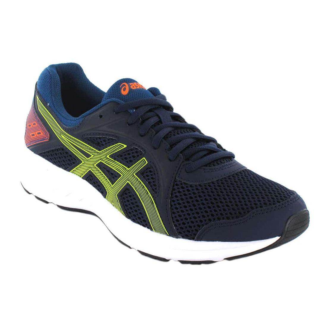 Asics Jolt 2 Navy Blue Asics Mens Running Shoes Running Shoes Running Sizes: 40,5, 41,5, 42, 43,5, 44, 44,5