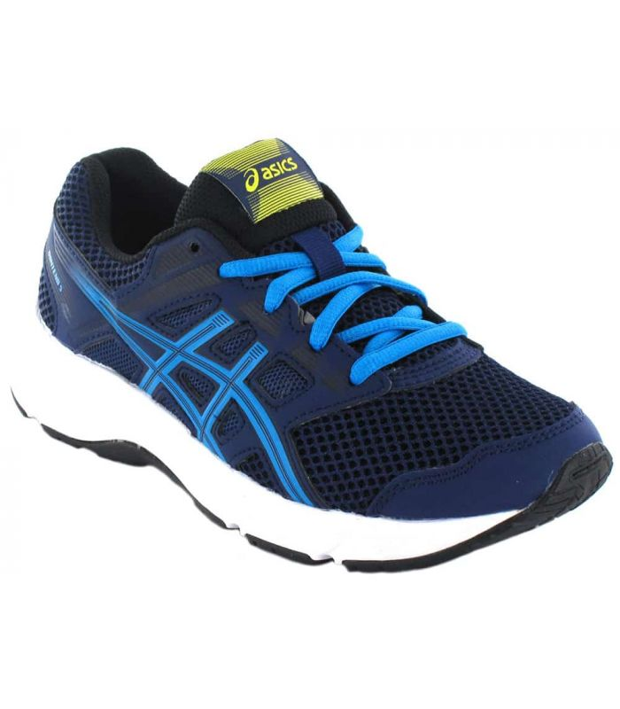 Asics Content Gs Navy Blue - Running Shoes Child