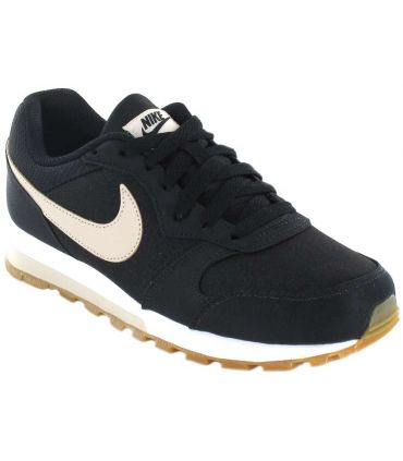 Nike MD Runner 2 SE W 003 Nike Calzado Casual Mujer Lifestyle Tallas: 37,5, 38, 39, 40, 41, 36; Color: negro