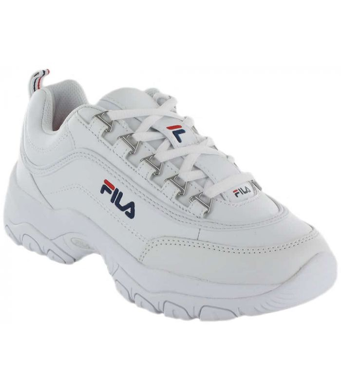 Fila Strada Low W Fila Calzado Casual Mujer Lifestyle Tallas: 37, 38, 39, 40, 41, 36; Color: blanco