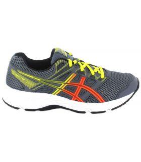 Asics Content Gs Grey Asics Running Shoes Child Running Shoes Running Sizes: 35,5, 36, 37, 37,5, 38, 39, 39,5, 40;