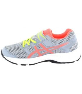 Asics Content Ps Grey Pink Asics Running Shoes Child Running Shoes Running Sizes: 31,5, 32,5, 33, 33,5, 34,5, 35;