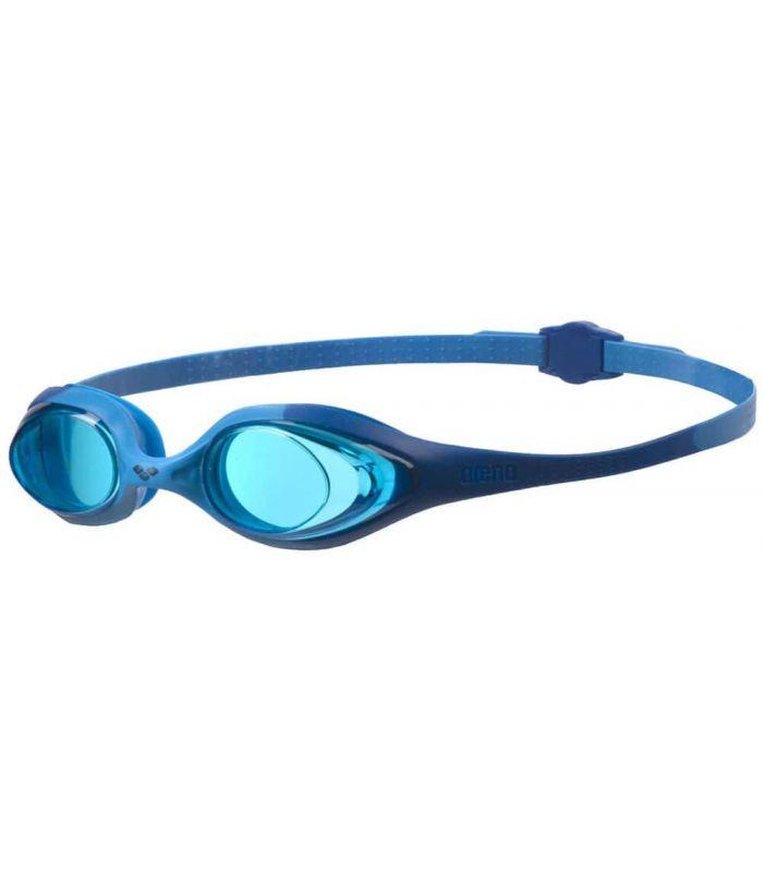 Gafas Natación - Arena Spider Junior Azul azul Natación - Triatlón