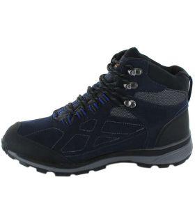 Regatta Samaris Suede Mid Azul Regatta Botas de Montaña Hombre Calzado Montaña Tallas: 41, 42, 43, 44, 45, 46, 40;