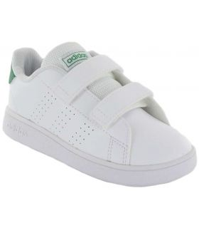 Adidas Advantage l Adidas Casual Shoe Baby Lifestyle Sizes: 21, 22, 23, 24, 25, 26, 27, 20; Color: white