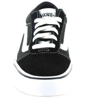 Vans Ward And Black Vans Casual Footwear Lifestyle Junior Sizes: 33, 34, 35, 36; Color: black
