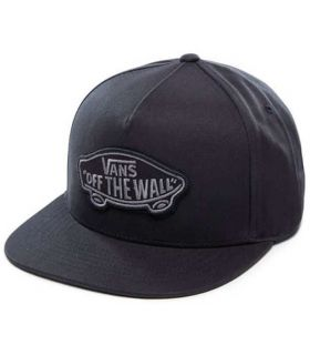 Vans Classic Patch Snapback Black Vans Hats - Visors Running Textile Running Color: black