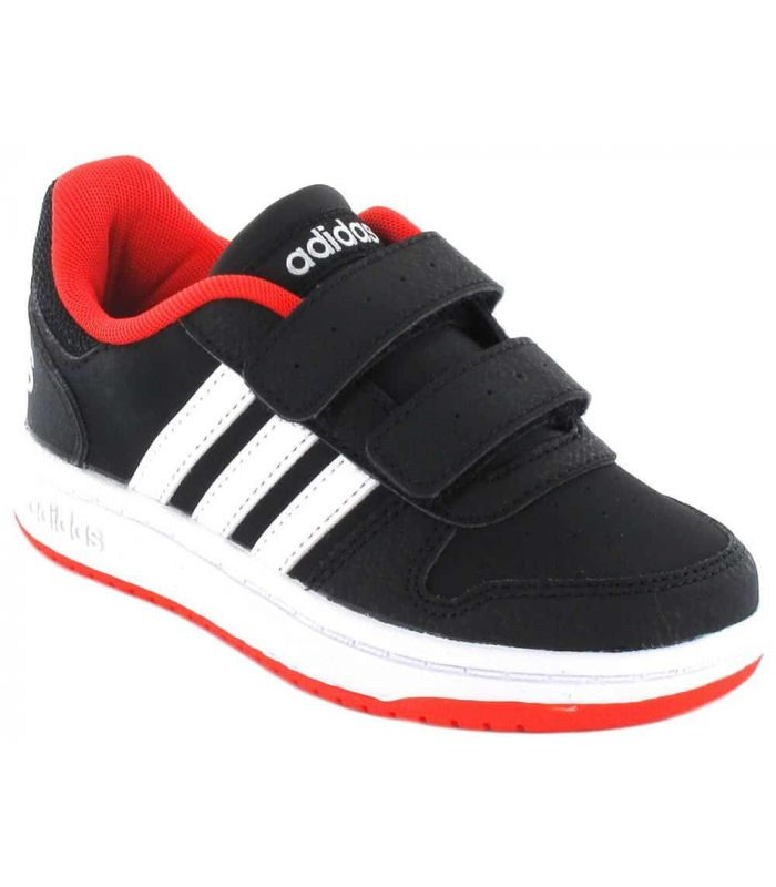 Adidas Hoops 2.0 CMF C Adidas Casual Footwear Lifestyle Junior Sizes: 28, 28,5, 29, 30, 30,5, 31, 31,5, 32, 33, 33,5