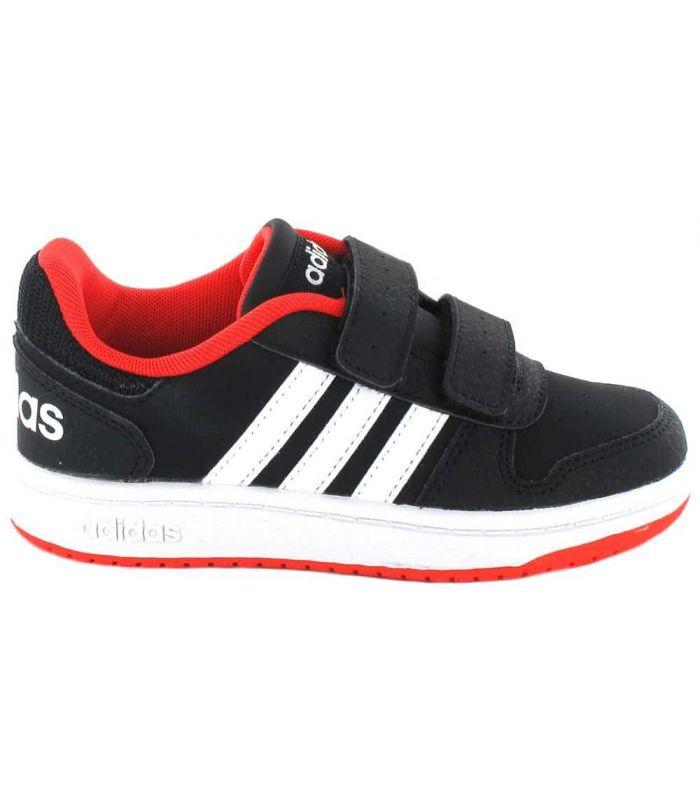 Adidas Hoops 2.0 CMF C Adidas Casual Footwear Lifestyle Junior Sizes: 28, 28,5, 29, 30, 30,5, 31, 31,5, 32, 33, 33,5