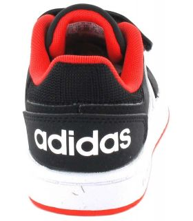 Adidas Hoops 2.0 CMF l Adidas Casual Shoe Baby Lifestyle Sizes: 20, 21, 22, 23, 24, 25, 26, 27; Color: black