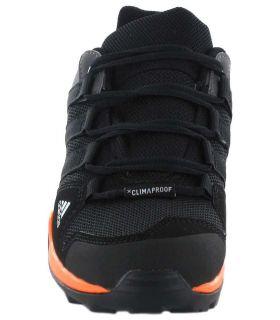 Zapatillas Trekking Niño - Adidas Terrex AX2R ClimaProof Negro negro Calzado Montaña