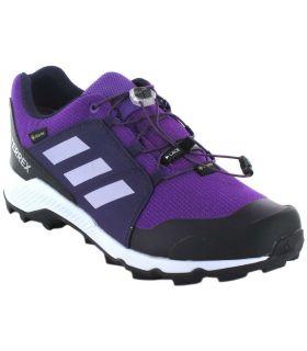Adidas Terrex Gore-Tex K Purple Chaussures Adidas Enfants Chaussures De Trekking De Montagne Sculptures: 35, 36, 36 2/3, 37