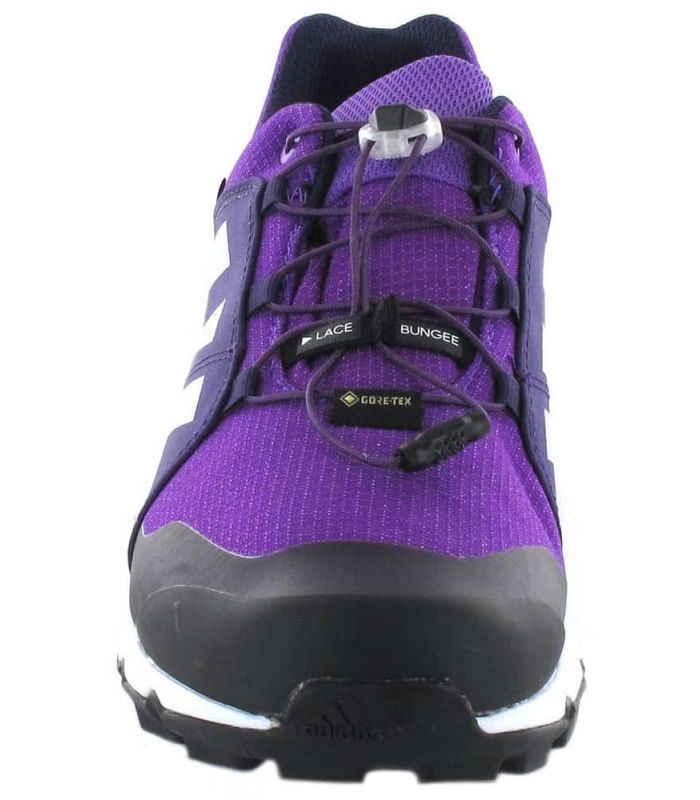 Adidas Terrex Gore-Tex K Purple Adidas Running Shoes Trekking Kids Footwear Mountain Carvings: 35, 36, 36 2/3, 37 1/3, 38, 38