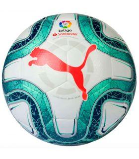 Puma Balón de fútbol La Liga Hybrid 4 Puma Balones Fútbol Fútbol Color: blanco