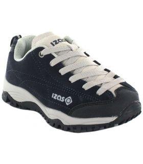 Izas Zorge Jr Bleu Marine Izas de course Chaussures de Trekking enfants Chaussures de Montagne Sculptures: 30, 31, 32, 33, 34,
