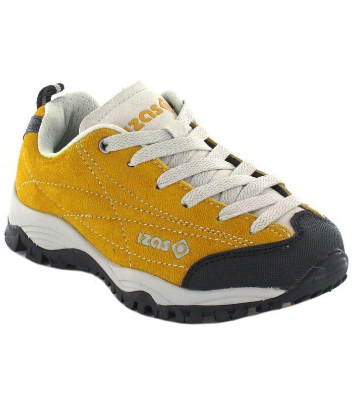 Zapatillas Trekking Niño - Izas Zorge Jr Gold Honey naranja Calzado Montaña