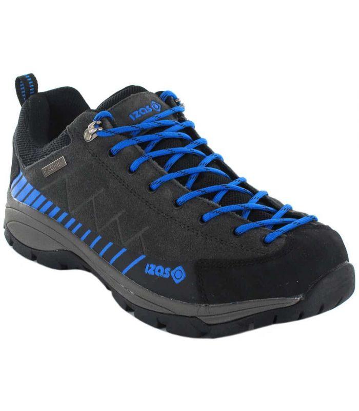Zapatillas Trekking Hombre - Izas Creta gris Calzado Montaña