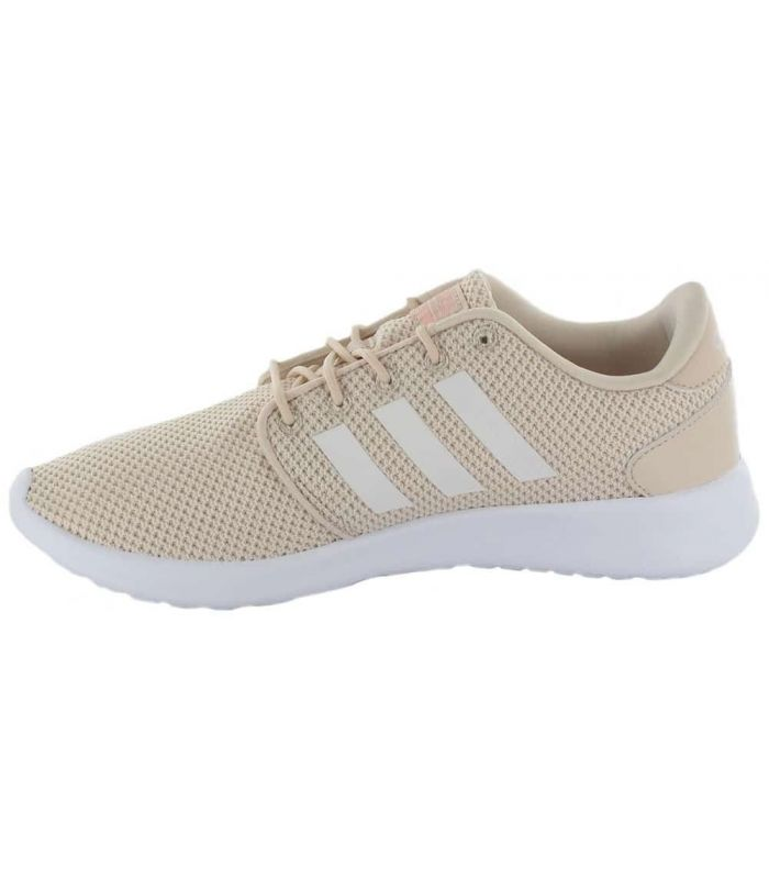 Calzado Casual Mujer - Adidas QT Racer beige Lifestyle