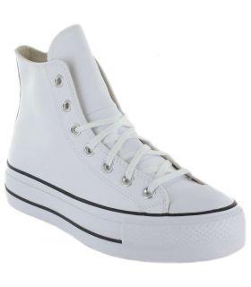 Converse Chuck Taylor All Star Lift Leather Bota Blanco Converse Calzado Casual Mujer Lifestyle Tallas: 36, 37, 39, 40