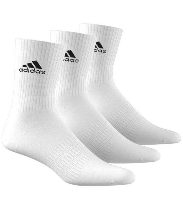 Chaussettes Adidas Semelle Blanche