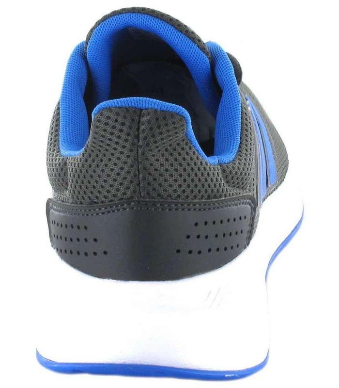 Adidas Runfalcon Gris Bleu Chaussures De Course Adidas Homme Chaussures De Course Running Tailles: 41 1/3, 42, 42 2/3, 43 1/3,