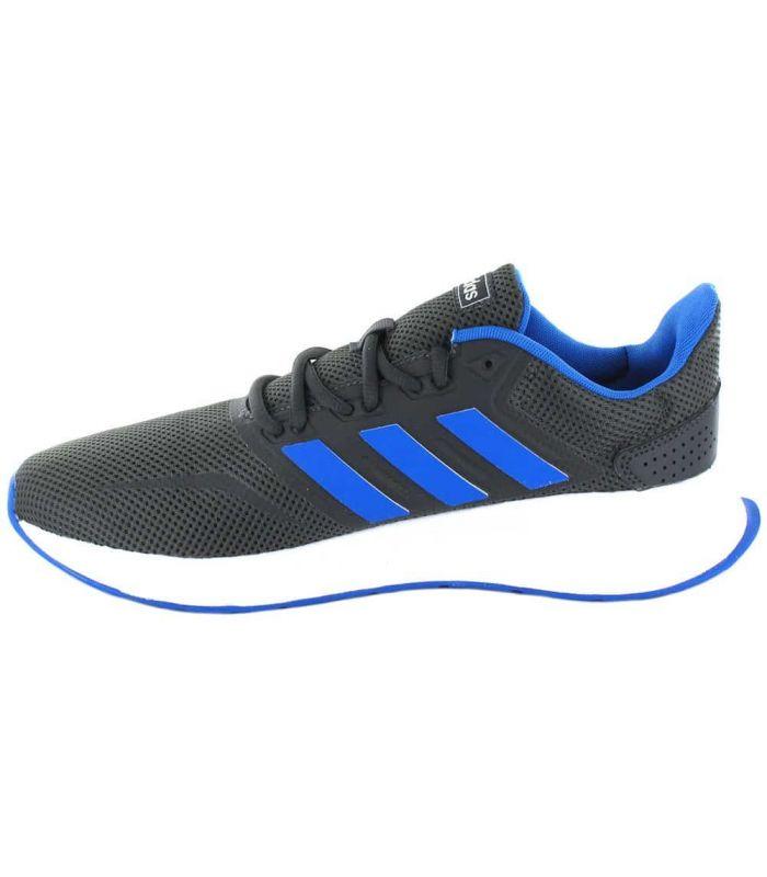 Adidas Runfalcon Grey Blue Adidas Running Shoes Man Running Shoes Running Sizes: 41 1/3, 42, 42 2/3, 43 1/3, 44