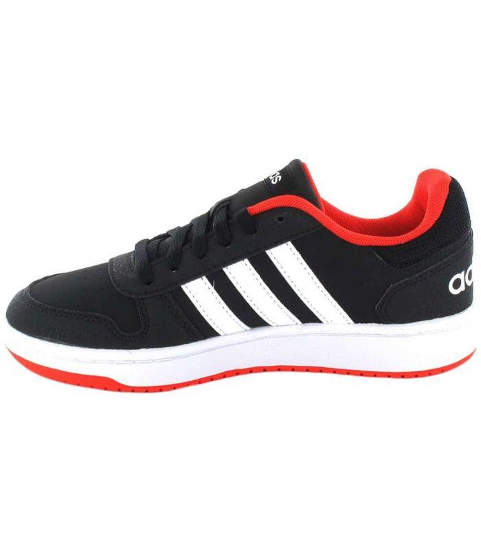 Adidas Hoops 2.0 K Negro - Zapatillas