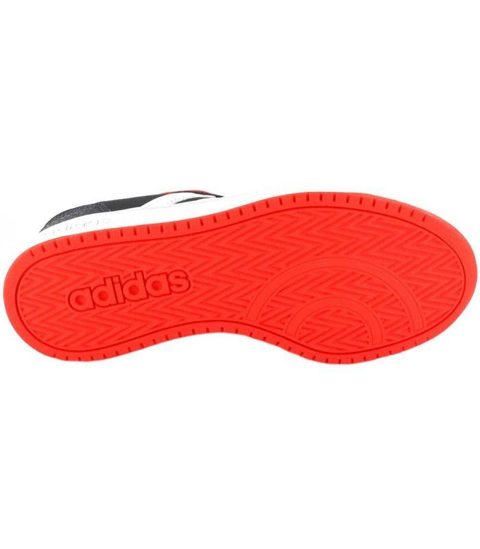 Adidas Hoops 2.0 K Black - Junior Casual Footwear