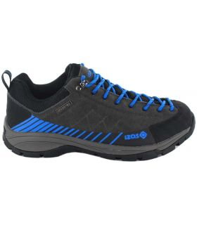 Izas Crete Izas running Shoes Trekking Mens Footwear Mountain Carvings: 41, 42, 43, 44, 45, 46, 40; Color: gray