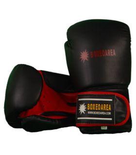 Guantes de Boxeo BoxeoArea 106 BoxeoArea Guantes de Boxeo Boxeo Tallas: 10 oz, 12 oz, 14 oz; Color: negro