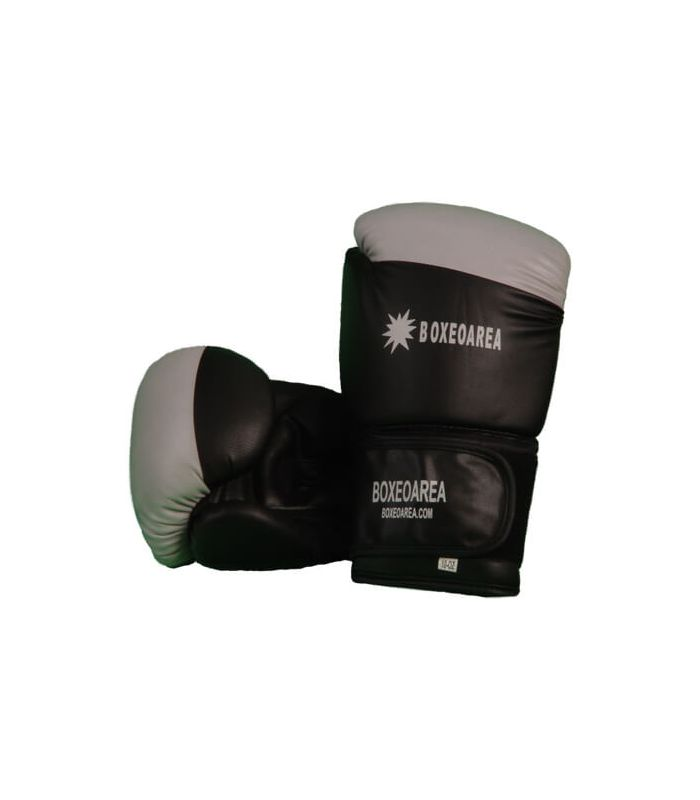 Guantes de Boxeo - Guantes de Boxeo BoxeoArea 123 negro Boxeo