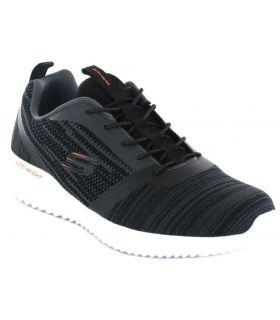 Skechers Bounder Skechers Calzado Casual Hombre Lifestyle Tallas: 41, 42, 43, 44, 45, 46; Color: negro