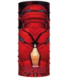 Buff Super Heroes Buff Capitan Iron Man Buff Buff Montaña Montaña Color: rojo