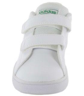 Adidas Advantage l Adidas Casual Shoe Baby Lifestyle Sizes: 21, 22, 23, 24, 25, 26, 27, 20; Color: white