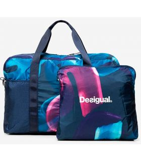 Uneven Matilde Gymbad Arty Desigual Backpacks - Bags Running Color: navy blue