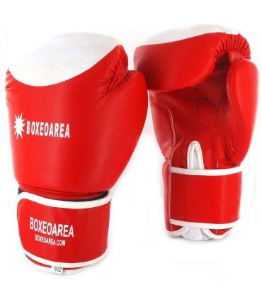 Guantes de Boxeo BoxeoArea 124 Rojo