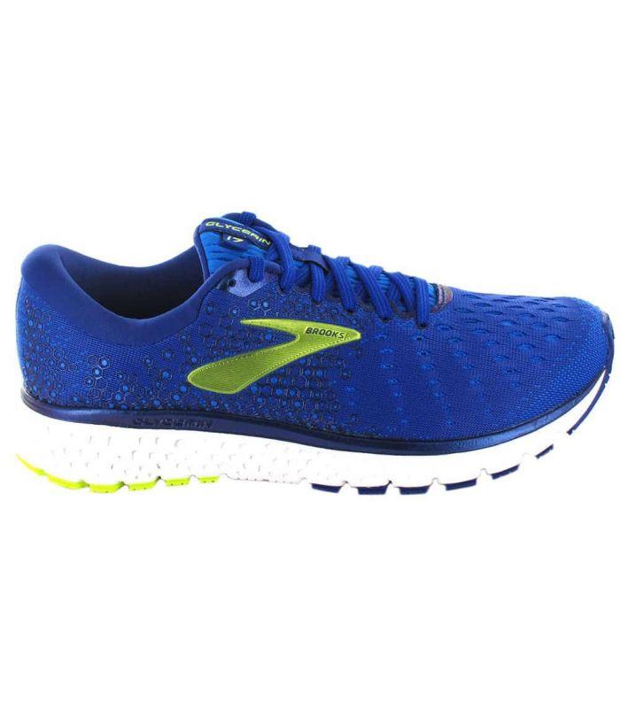 Brooks Glycerin 17 Azul Brooks Zapatillas Running Hombre Zapatillas Running Tallas: 41, 42,5, 44, 44,5, 45, 45,5, 46