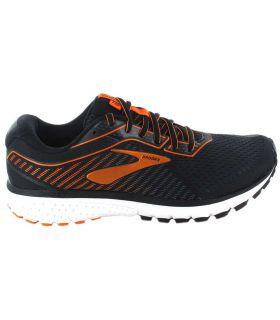 Brooks Ghost 12 Noir Brooks Chaussures De Course Homme, Chaussures De Running Tailles: 41, 42, 42,5, 43, 44, 44,5, 45, 45,5