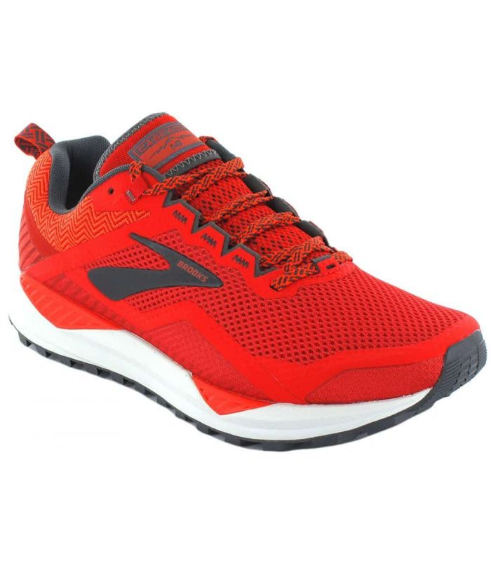 Brooks Cascadia 14 Red Brooks Running Shoes Trail Running Mens Running Shoes Trail Running Size: 41, 43, 44, 44,5, 45