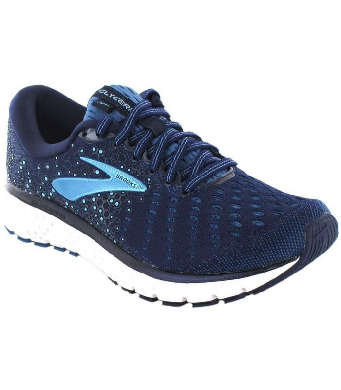 Brooks Glycerin 17 W Azul - Zapatillas