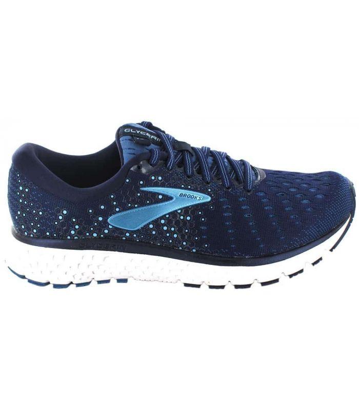 Zapatillas Running Mujer - Brooks Glycerin 17 W Azul azul marino Zapatillas Running